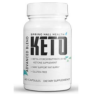 Spring Hall Health Keto Pills - Burn Fat The Fast Way! | Review